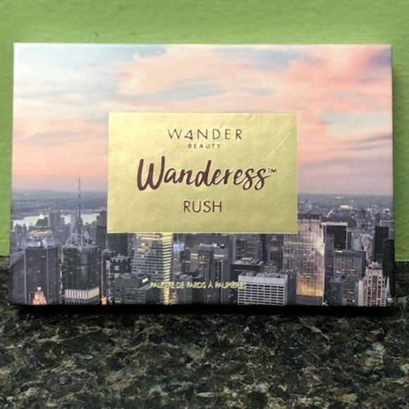 Wander Beauty Other - Wander Beauty Wanderess Rush Palette